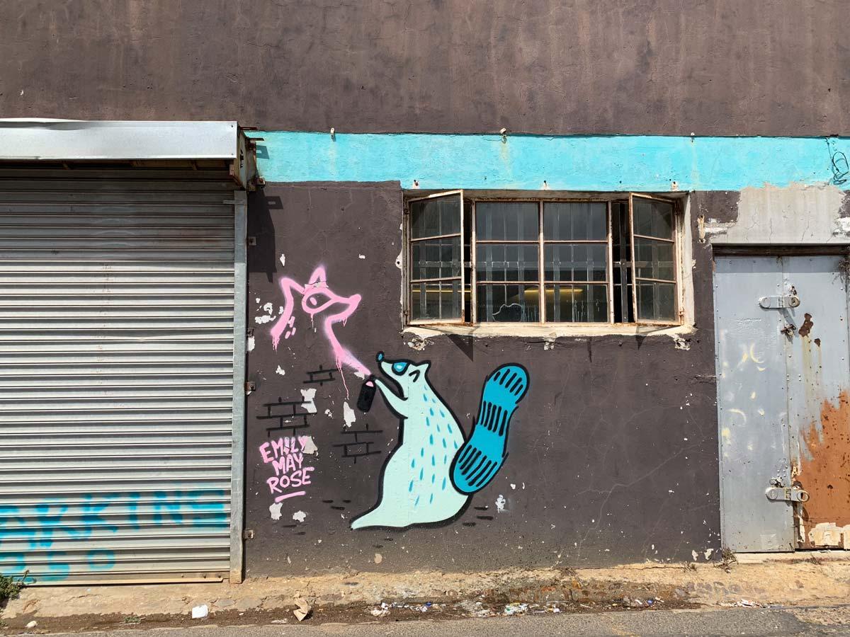 Woodstock Kapstadt - Streetart in Südafrika