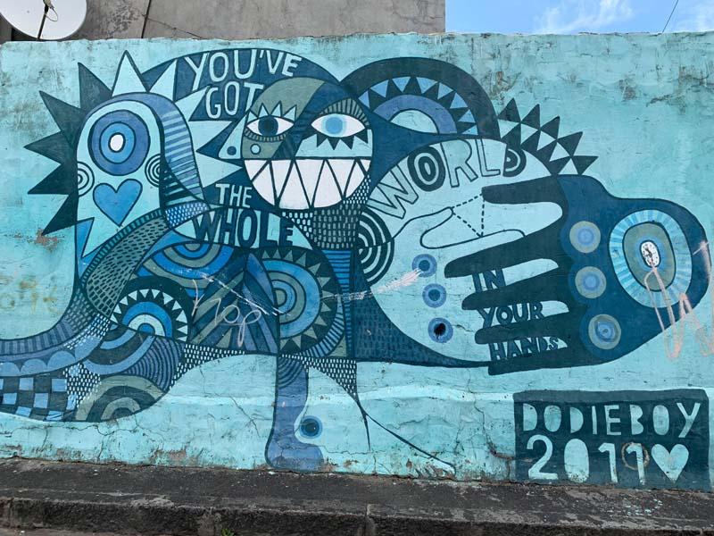 Dodie Boy Mural Woodstock Kapstadt