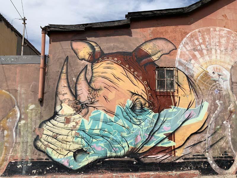 Nashorn Mural Woodstock