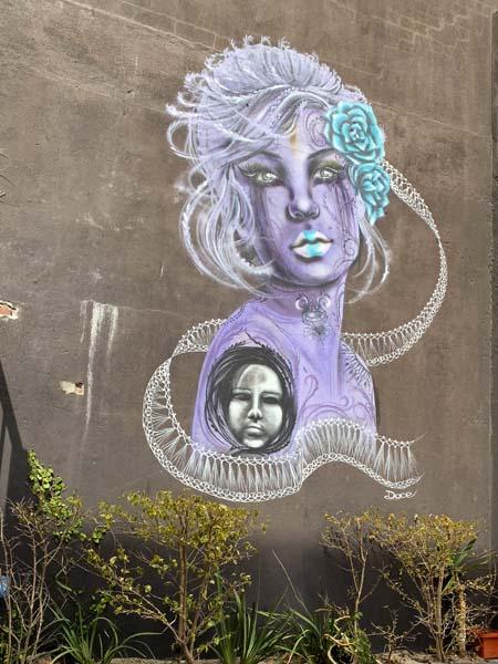 Streetart in Kapstadt