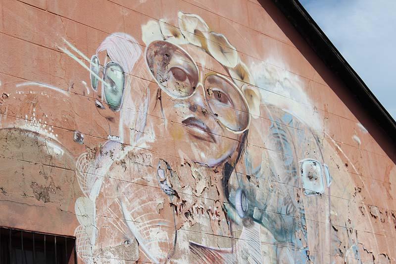 Mural Woodstock Südafrika