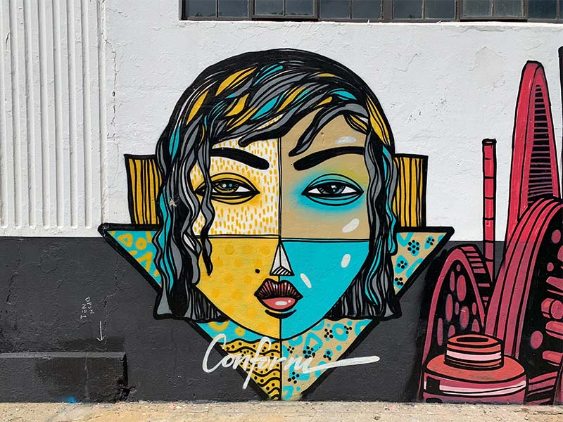Confrom Mural Streetart Südafrika