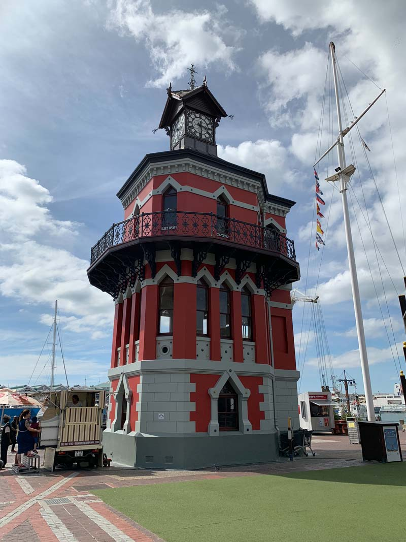 Uhrturm V&A Waterfront Kapstadt