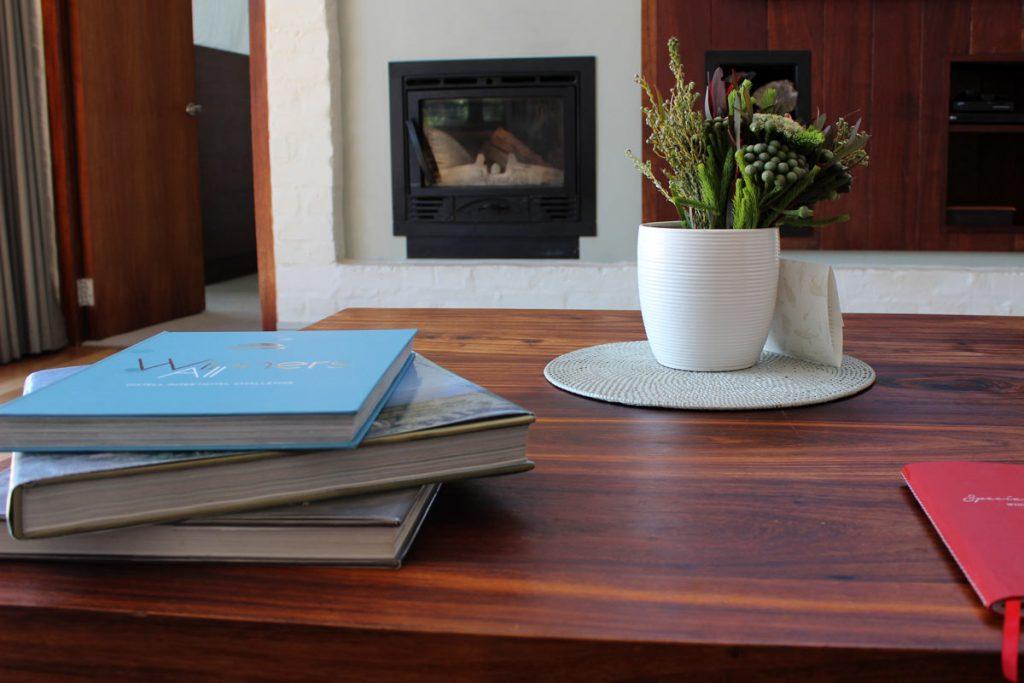 Wohnzimmer Forest Lodge Grootbos Südafrika