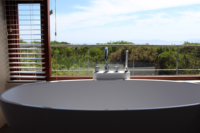 Badewanne mit Aussicht Forest Lodge Forest Lodge Grootbos Private Nature Reserve