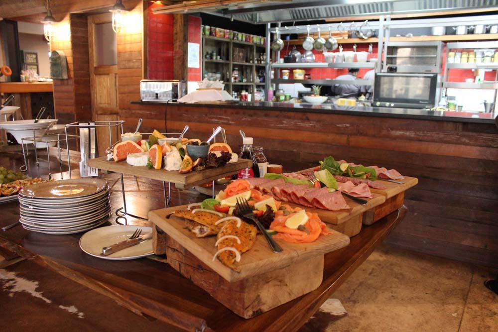 Frühstücksbuffet Bellevue Restaurant Botlierskop