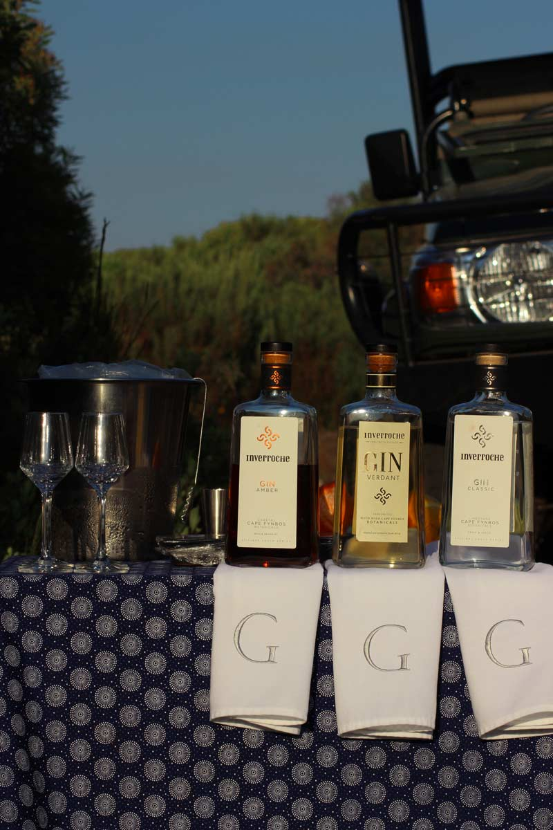 Grootbos Gin Tasting - Inverroche Gin