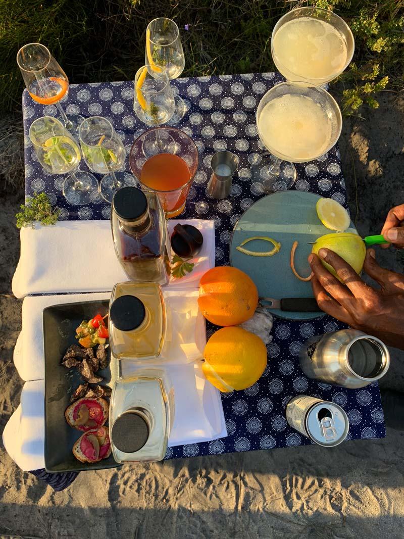 Grootbos Gin Tasting - Inverroche Gin