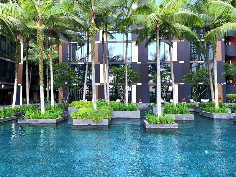 Singapur Flughafen Crowne Plaza Hotel Changi Airport