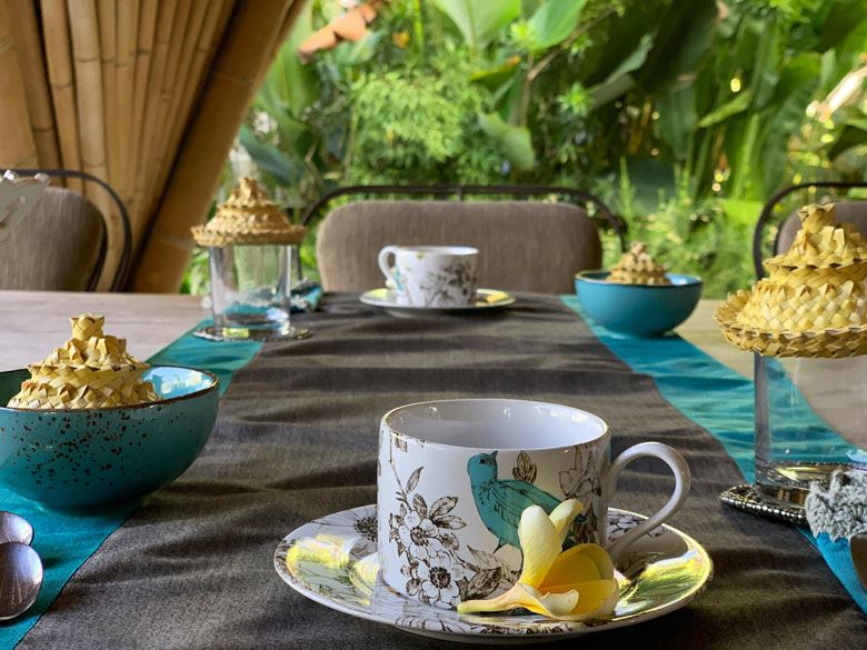 Frühstück Sandat Glamping Tents Ubud