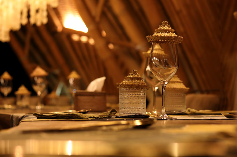 Restaurant Sandat Glamping Tents Ubud
