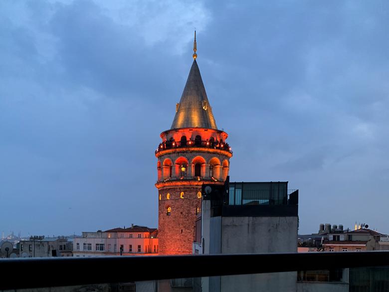 Galata Turm Istanbul Türkei