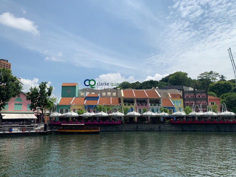 Clark Quay Singapur Sehenswürdigkeiten