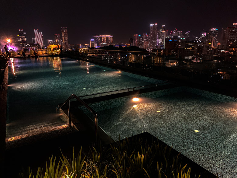 Hotel Jen Orchardgateway Singapur Rooftop Pool