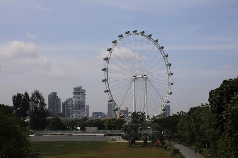 Singapore Flyer Singapur Sehenswürdigkeiten