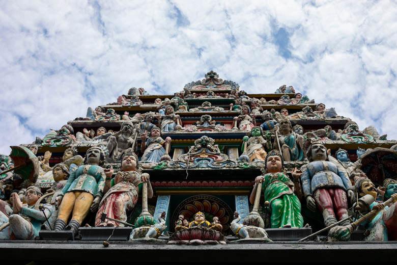 Sri Mariamman Tempel Chinatown Singapur
