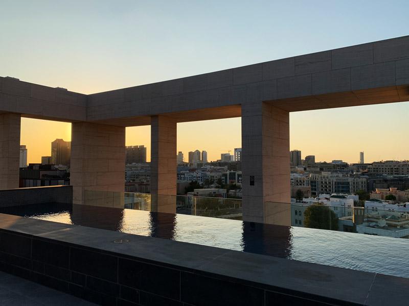 Pool Zabeel House Al Seef Hotel Dubai