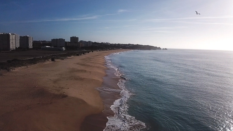 Praia de Alvor Algarve Portugal