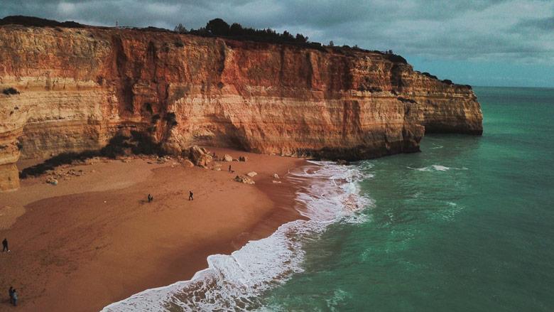 Praia de Benagil Portugal Algarve