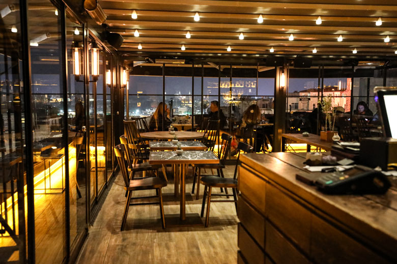 Tipp Ausblick Snog Roof Bar Istanbul