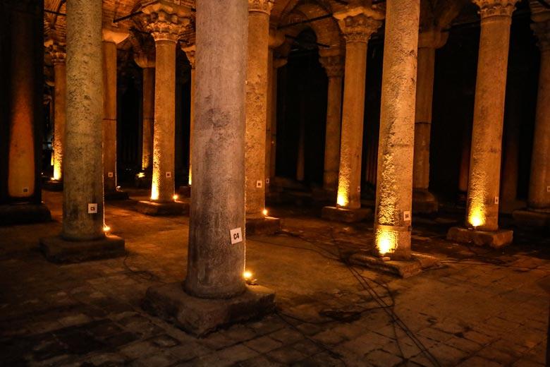 Cisterna Basilica Istanbul Sehenswürdigkeiten