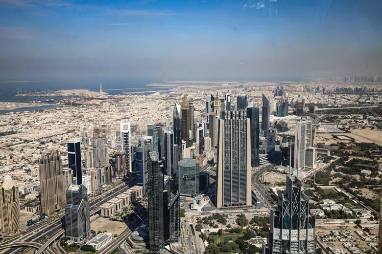 Dubai Sehenswürdigkeiten Burj Khalifa