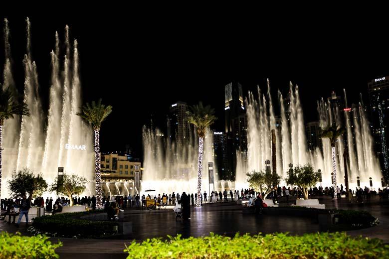Dubai Sehenswürdigkeiten Show Dubai Mall