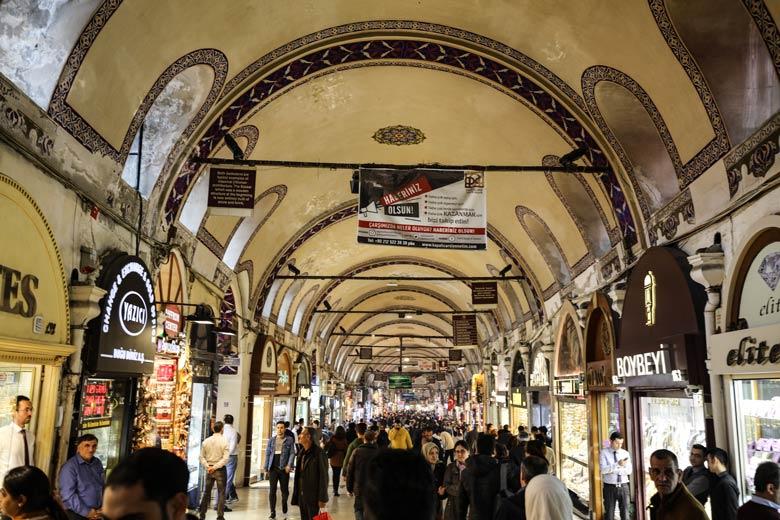 Großer Basar Istanbul Sehenswürdigkeiten