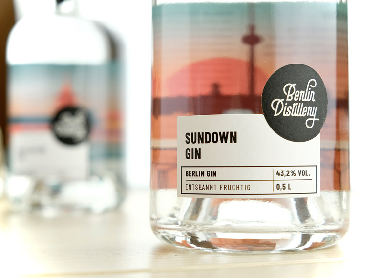 Sundown Gin © Berlin Distillery