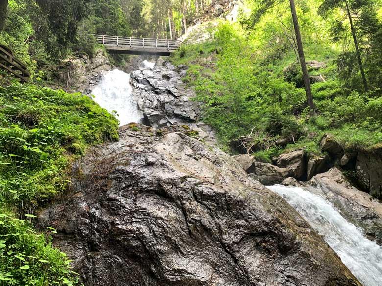 Günster Wasserfall Wandern Obersteiermark