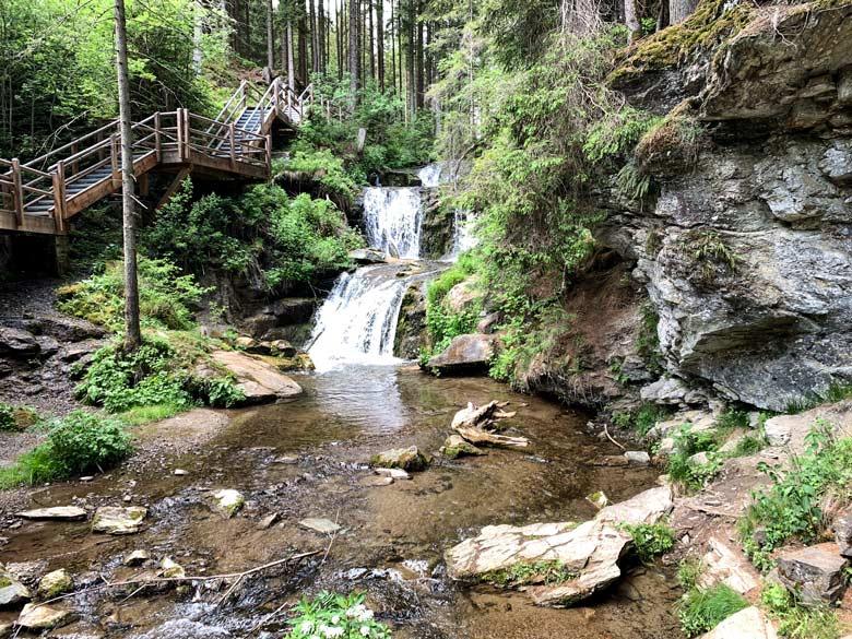 Graggerschlucht Wasserweg Wandern Steiermark