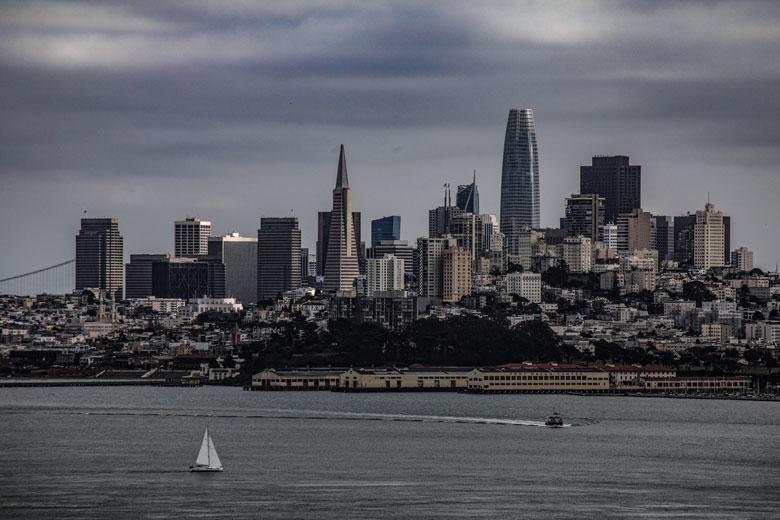 Skyline San Francisco Kalifornien