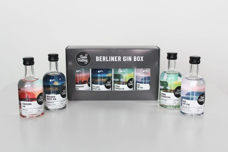 Mini Gin Box © Berlin Distillery